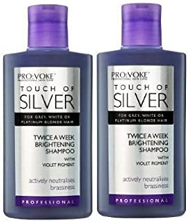 Touch Of Silver Silver Reflex Shampoo 2 X 150Ml Each