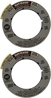 Hayward Mulitport & Pool Sand Filter Valve Label Plate Replacement | SPX0710G (2 Pack)