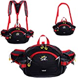 SINOKAL Sport Running Large Capacity Waist Bag Fanny Pack Water Bottle Holder Riding Cycling Climbing Bag For...