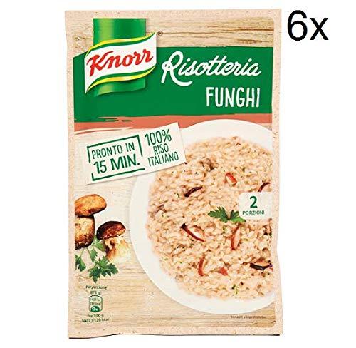 6x Knorr Risotto funghi Reis Steinpilze 175g 100% italienisch Fertiggerichte
