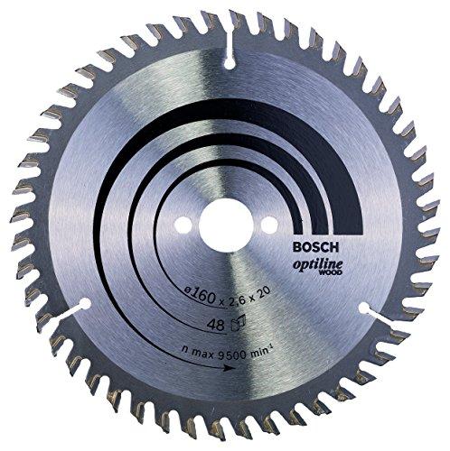 Bosch Professional 2 608 640 732 Bosch 732Hoja de sierra circular Optiline Wood160 x 2016 x 26 mm 48 pack de 1 0 W 0 V