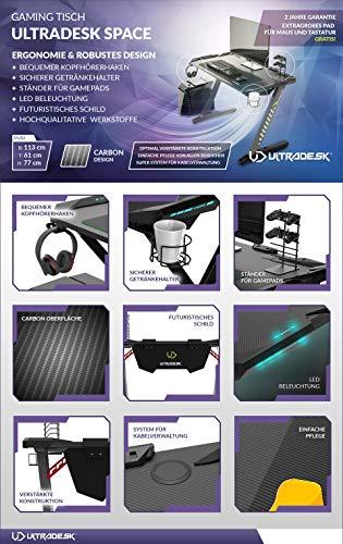 Ultradesk Space – Gaming Tisch - 2