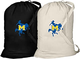 Broad Bay McNeese State Laundry Bag -2 Pc Set- McNeese State Cowboys Clothes Bags