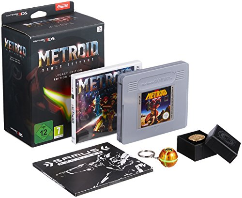 3DS Metroid Samus Returns Edición Legacy