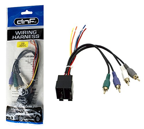 DNF Amp Integration Wiring Harness Stereo Adapter for Select Mercedes 1994-2004 Vehicles (70-1786) - 100% Copper Wires!