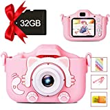 Kids Camera Digital Dual Camera, Toys Gift for 4-8 Years Old Kids, Video
