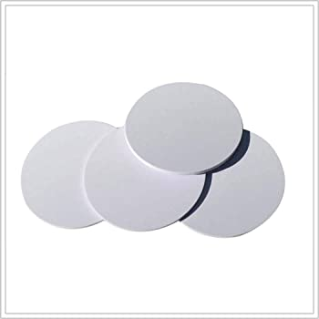 NFC Card NTAG215 NFC Tags Round 30mm(1.18 inch) Blank PVC NFC Coin Cards,504 Bytes Memory,100% Compatible with TagMo Amiibo and All NFC Enabled Mobile Phones & Devices-12 Pieces