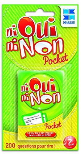 Megableu - Jeux de voyage et de poche - Ni Oui Ni Non Pocket