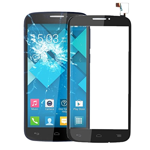 Compatibele Vervangings IPartsBuy Touch Screen Replacement for Alcatel One Touch Pop C7 / 7040 Accessory (Color : Black)