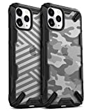 Ringke Fusion-X DDP Diseñado para Funda Apple iPhone 11 Pro, Transparente al Dorso Carcasa iPhone 11 Pro 5.8