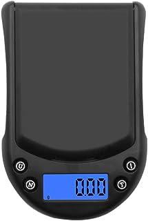 JINHH Báscula electrónica de Uso doméstico, Báscula de Palma de precisión Báscula de Plata Báscula de Bolsillo 200G 0 01G Báscula Digital multifunción