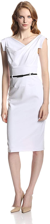 Black Halo Women's Jackie O Belted Dress
