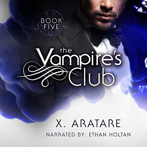 The Vampire's Club (An M/M Vampire Romance) audiobook cover art