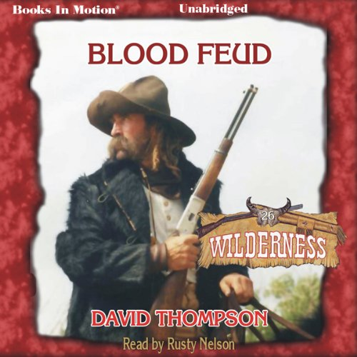 Blood Feud audiobook cover art