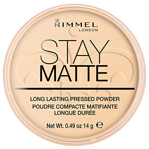 Rimmel London Stay Matte Long Lasting Pressed Powder Transparent, durchsichtig, milliliter