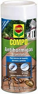 Compo Antihormigas, Formato granulado para espolvorear, de Uso Interior y Exterior, Efecto Durade...