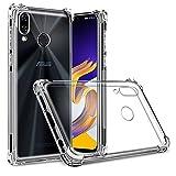 XEPTIO Etui Transparent pour ASUS Zenfone 5 ZE620KL 4G Anti Choc avec Bords renforcés - Coque Gel de Protection Bumper en TPU Gel...