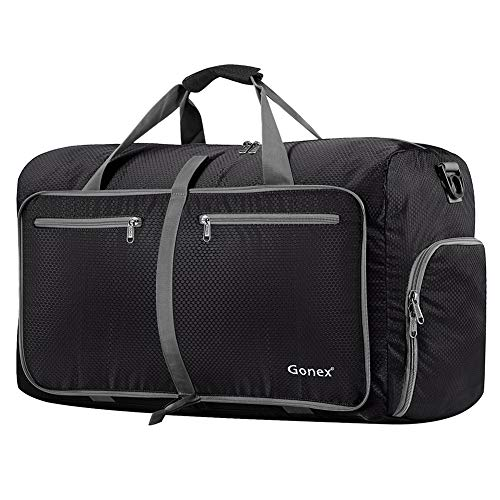 Gonex 80L Packable Travel Duffle Bag Foldable Duffel Bags...