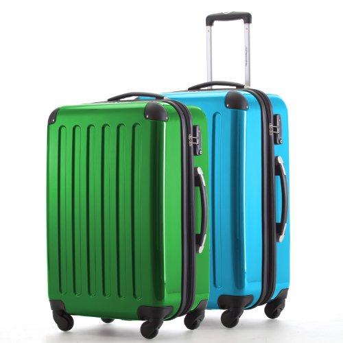 HAUPTSTADTKOFFER Set di valigie, 65 cm, 148 L, Multicolore