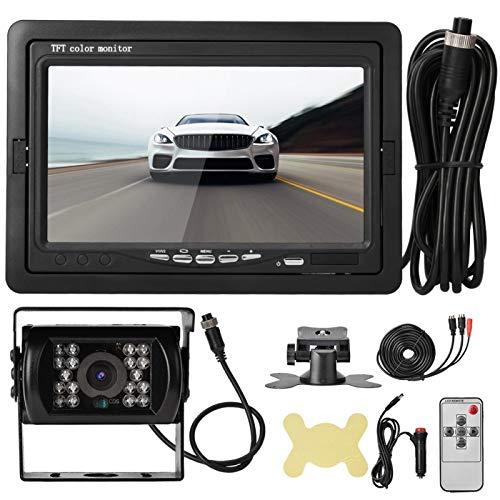 DVR, grabadora de vídeo de conducción, Monitor LCD HD, Coche Digital al Aire Libre para Lugares al Aire Libre