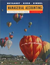Managerial Accounting: Tools for Business Decision Making, WebCT, Second Edition by Jerry J. Weygandt (2001-10-08)
