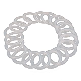 HODEE 20 PCS Sanitary triCLAMP Tri CLAMP Silicone Gasket 2