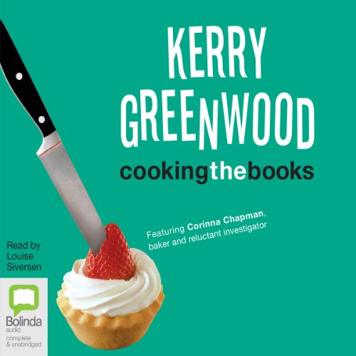 Cooking the Books audiobook cover art