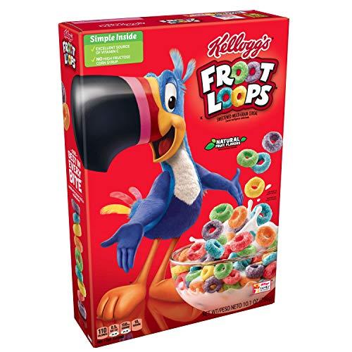 Kellogg's - Froot Loops (cereales americanos) - 1 x 286
