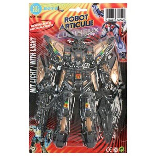 BG International - 21156 - Jeu éducatif premier âge - Robot Lumineux - 19 cm