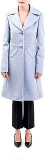 BLUMARINE Luxury Fashion Womens 430500726 Light Blue Coat   Fall Winter 19