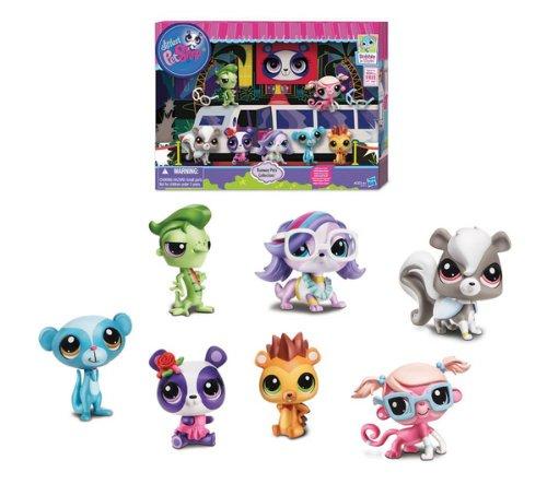 HASBRO Littlest Pet Shop - Pack Personajes célebres de los Pet ...