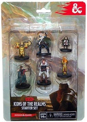 WizEnfants - 332561 - Dungeons and Dragons Icones Miniatures Jeux Débutant Realms Donjons Et Dragons