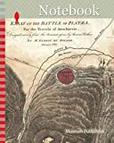 Notebook: 1784, Map of the Battle of Plataea, Greece