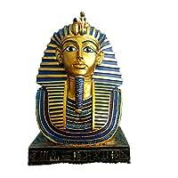 装飾品置物ギフト室内装飾古代エジプトのファラオ女王彫刻飾り樹脂置物像ミニチュアオフィス装飾