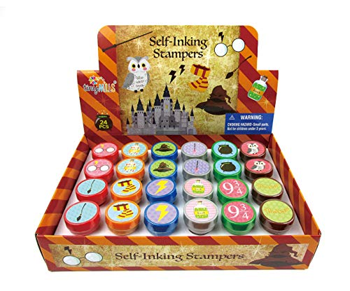 TINYMILLS 24 Pcs Wizard Stampers for Kids