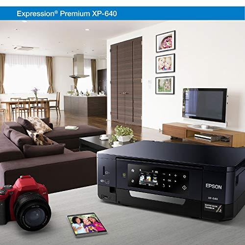 Epson XP-640 Wireless Color Photo Printer 2.7, Amazon Dash Replenishment Ready Photo #3