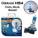 2x Osram HB4 80W 12V Cool Blue Boost Hyper Blue 5000K 69006CBB-HCB Super Weiß Xenon Look Ersatz Halogen Birne für Scheinwerfer, Fernlicht, Abblendlicht, Nebelleuchte vorne - Off-Road