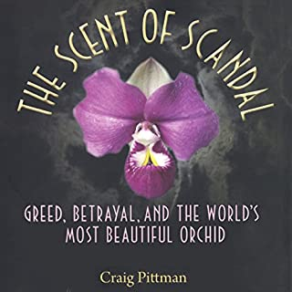 The Scent of Scandal audiobook cover art