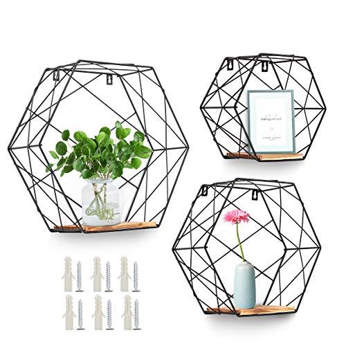estante hexagonal de la marca AGSIVO