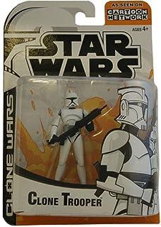 Star Wars Animated Clone Wars Clone Trooper Action Figure (C
