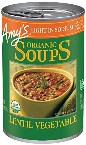 Amy's Soup, Vegan, Gluten Free, Organic Lentil Vegetable (Potatoes,...