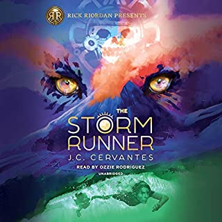 The Storm Runner                   By:                                                                                                                                 J. C. Cervantes                               Narrated by:                                                                                                                                 Ozzie Rodriguez                      Length: 11 hrs and 51 mins     95 ratings     Overall 4.7