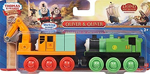 Thomas & Friends Wooden Railway Oliver and Oliver Engine - by Thomas & Friends