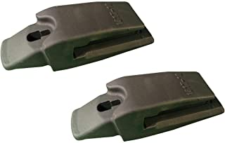 2 - Esco Style Weld-On Bucket Adapters, Fits 18-20 series tooth - 1617-18