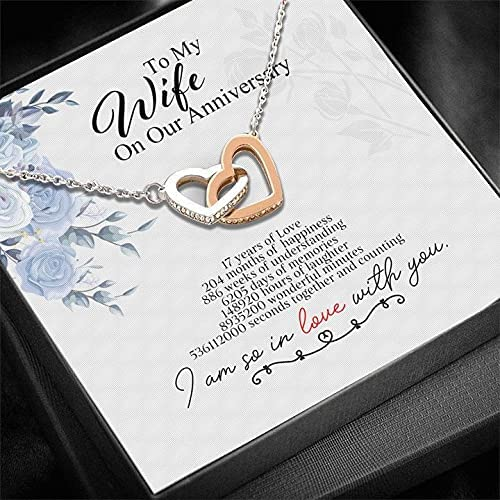 Direct store 17th Year Anniversary Gifts For Custom Personalized Ne Her trust Wife