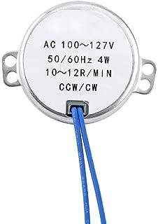 1 Piece 4 Sizes AC 100V-127V 4W 50/60Hz Synchronous Motor(10-12RPM)