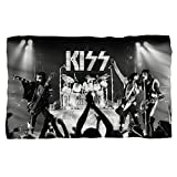 KISS - Live On Stage - Fleece Throw Blanket
