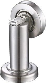 Magnetic Door Stopper, Angle Simple Metal Doorstop Wall Or Floor Mount Heavy Duty Door Holder with Magnet Metal Wood Door ...