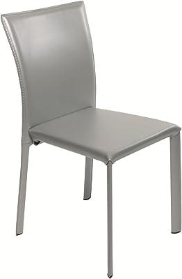 Swithome – Juego de 2 sillas para Comedor Trendy Color Gris