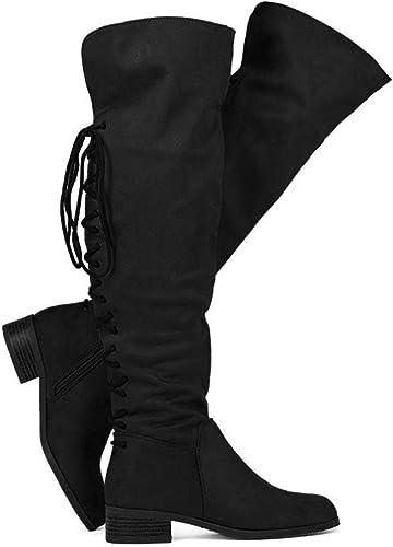 WestCoast Women's Flat Knee High Boots